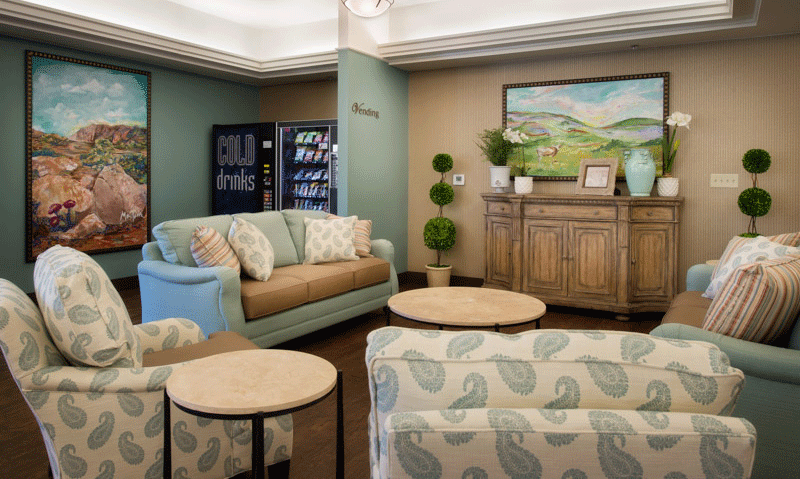 McMahon Tomlinson nursing and rehabilitation living room