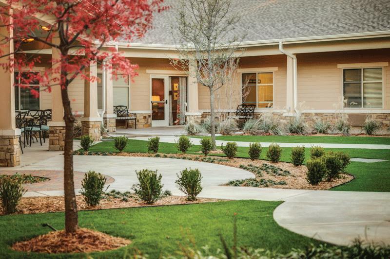McMahon Tomlinson Nursing and Rehabilitation Center Grounds