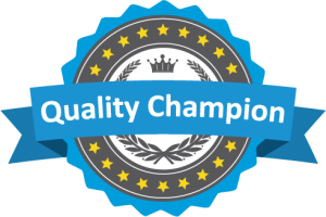 Quality Champion Badge