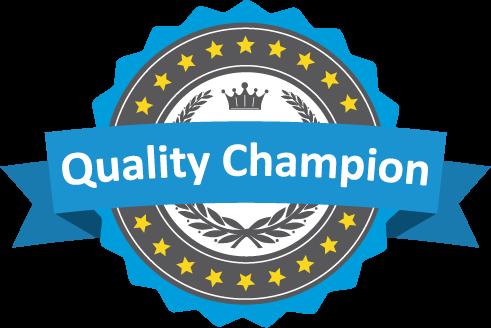 Quality Champion Badge